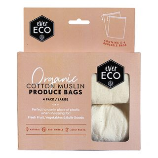 Ever Eco Cotton muslin bags