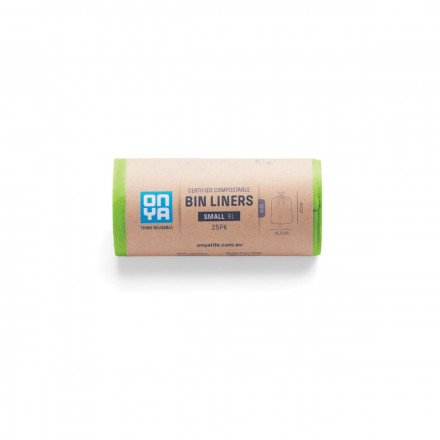 Onya Compostable Bin Liners Small 8L