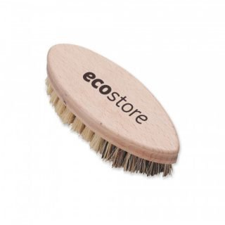 Vegetable scrubbing brush